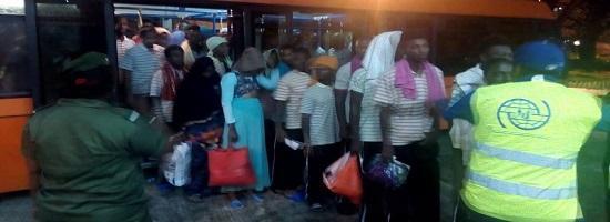 5 jeunes migrants guineens retournes de la libye 21 09 2018