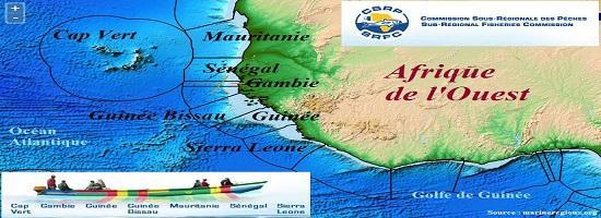 Afrique ouest peche csrp senegal mauritanie guinee cap vert gambie sierra leone
