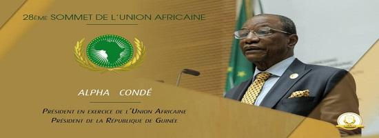 Alpha conde pre sident de lunion africaine 1