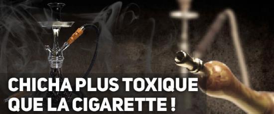 Chicha narguile plus toxique que la cigarette