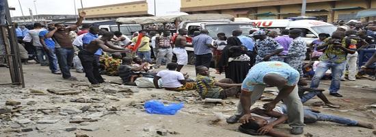 Deux morts dans leffondrement dun immeuble en guinee