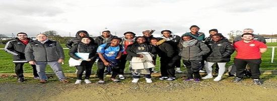 Le groupe de l equipe feminine de handball de guinee sur le 4283864 441x330p