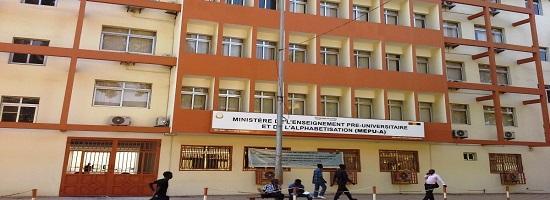 Ministere pre universitaire