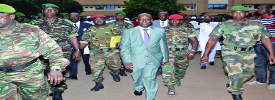 Mohamed diane ministre defense guinee visite mali