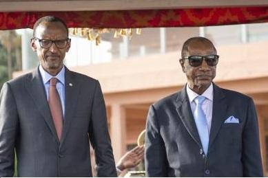 Paul kagame et alpha conde5 0