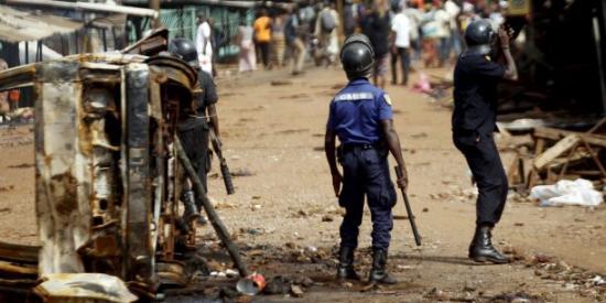 Trois guineens tues par les gendarmes a conakry avant l election