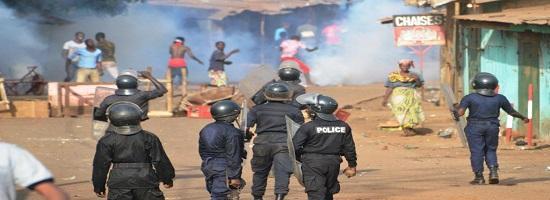 Violences conakry greve enseignants manifestation police guinee 0